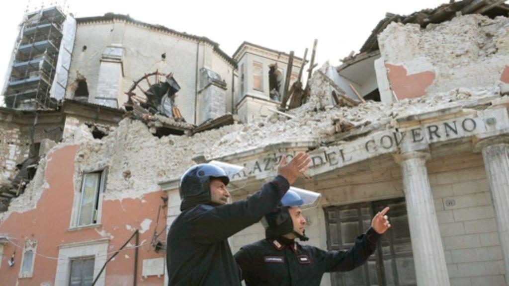 LAquila Erdbeben