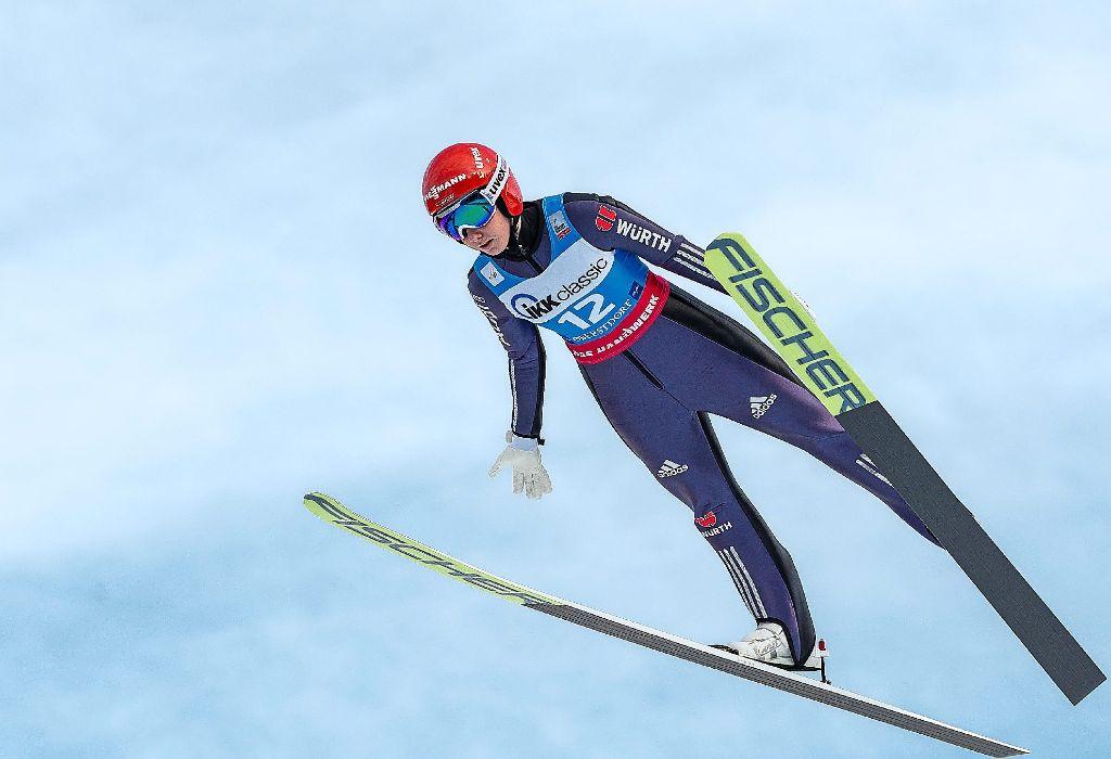 In Bande gekracht! Sorge um Skispringerin Würth