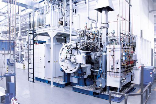 Der neue Technikums-Sinterofen der Simon-Gruppe  Foto: Werksfoto Foto: Schwarzwälder Bote