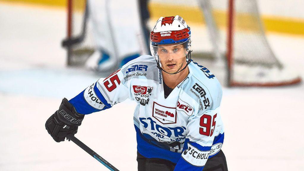 Eishockey: Wild Wings: Jamie MacQueen freigestellt - Schwarzwälder Bote