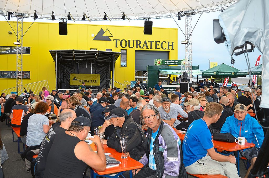 In Niedereschach the Touratech Travel Event takes place again.  Photo: Bantle