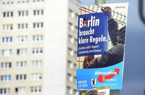 Bei den Wahlen zum Abgeordnetenhaus in Berlin mobilisierte die AfD viele Nichtwähler. Foto: dpa