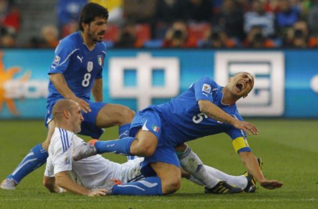 italien ausgeschieden