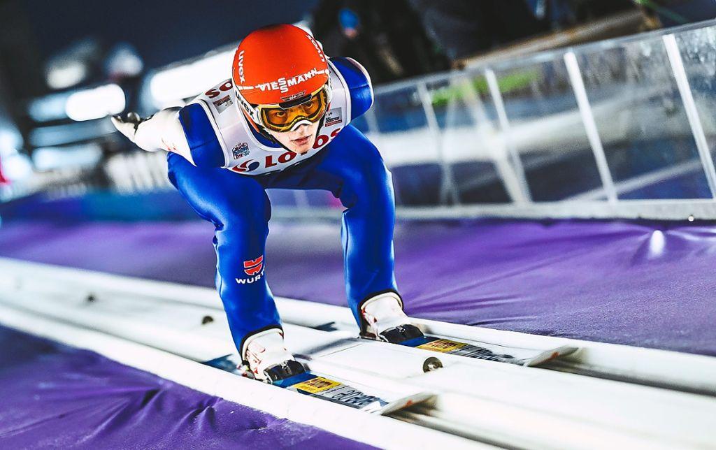 Wintersport David Siegel Springt Ins Rampenlicht Wintersport