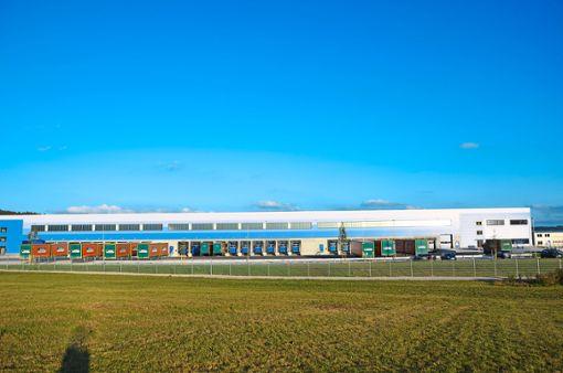 Das Logistik-Unternehmen Elflein Logistics Europe siedelt sich im Trichtinger Gewerbegebiet Schroten an. Foto: Wagner