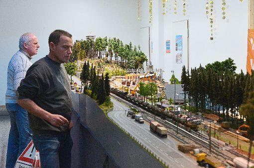Modelleisenbahnen in Aktion  Foto: Veranstalter Foto: Schwarzwälder-Bote