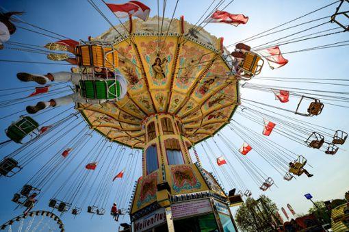 Auf dem Cannstatter Wasen werden wieder mehr als eine Million Besucher erwartet.  Foto: dpa