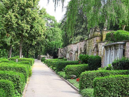 Der Friedhof ist auch heute noch sehr gepflegt und hat viele historische Gräber.  Foto: Würfele Foto: Schwarzwälder Bote
