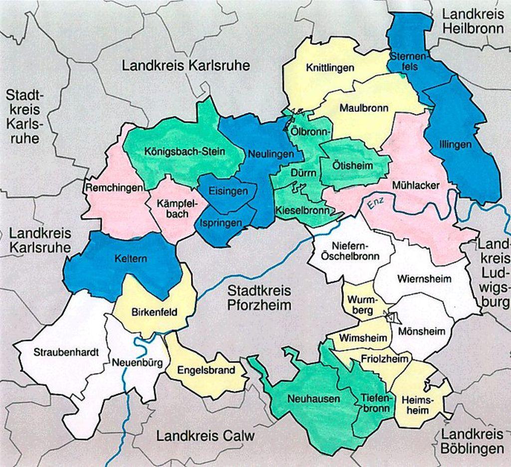 Pforzheim Landkreis