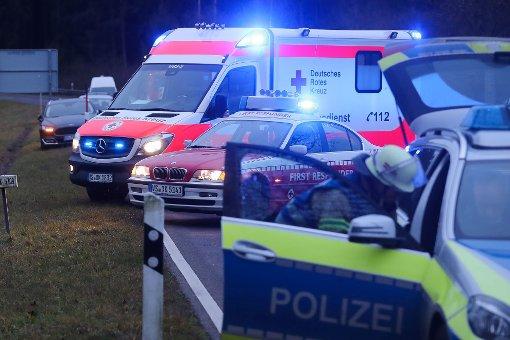 Wie durch ein Wunder blieben bei dem Unfall auf der B 462 alle Beteiligten unverletzt. (Symbolfoto) Foto: Marc Eich