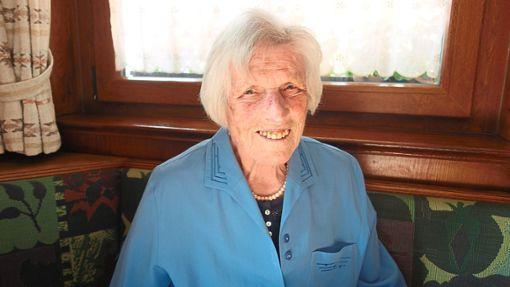Ida Kuon wird heute 90 Jahre alt.  Foto: Hötzel Foto: Schwarzwälder Bote