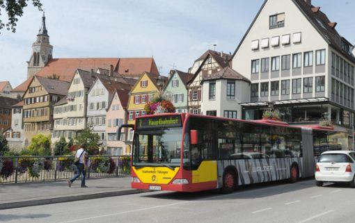 Die Tübinger sollen über die Regionalstadtbahn abstimmen. Foto: dpa