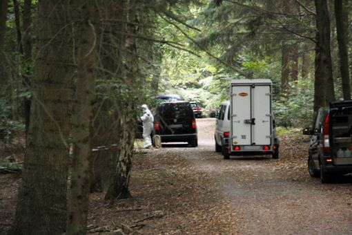 Ist der Tote der vermisste Jäger? Letzte Zweifel soll eine Obduktion ausräumen, die für Donnerstag anberaumt ist. Foto: dpa