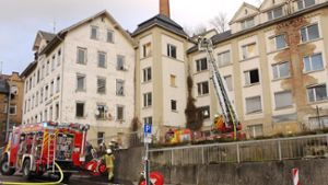 Albstadt: Feuer in alter Fabrik war Brandstiftung