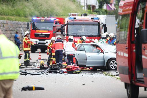Nach dem schweren Busunglück vor einem Monat in Vöhrenbach schwebt der 90-jährige Verursacher weiterhin in Lebensgefahr.  Foto: Marc Eich