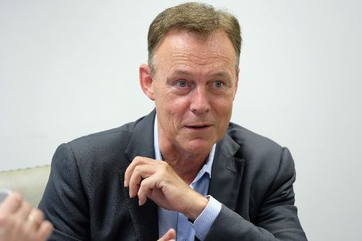 Thomas Oppermann, der Vorsitzende der SPD-Bundestagsfraktion stand bei seinem Redaktionsbesuch Rede und Antwort. Foto: Fritsch