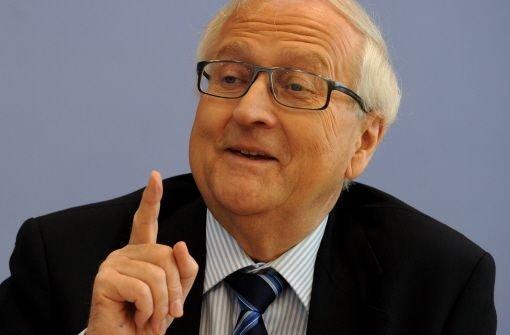 Bundeswirtschaftsminister Rainer Brüderle  Foto: dpa