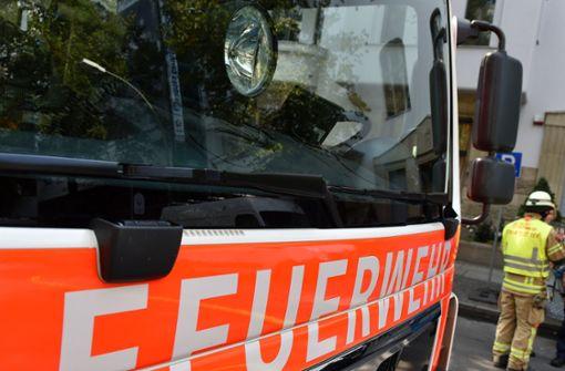 Die Feuerwehr löschte die Flammen. (Symbolfoto) Foto: dpa-Zentralbild