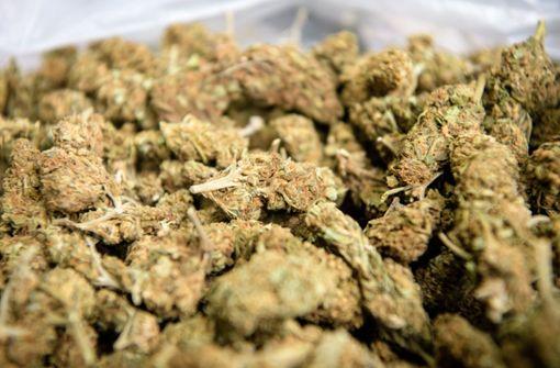 Die Männer sollen in Spanien 18 Kilo Marihuana besorgt haben. (Symbolbild) Foto: dpa