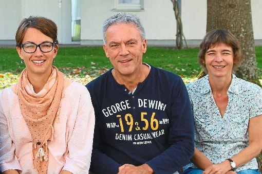 Stefanie Brüschke (von links), Gerhard Schrempp und Constanze Blank hoffen auf eine ähnlich gute Resonanz bei den Benefizessen wie in den vergangenen Jahren.    Foto: Schrempp