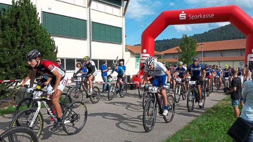 Viele Fahrer fiebern dem Nill-Bike-Bergrennen bereits entgegen und freuen sich auf den Start.   Foto: Verein Foto: Schwarzwälder Bote