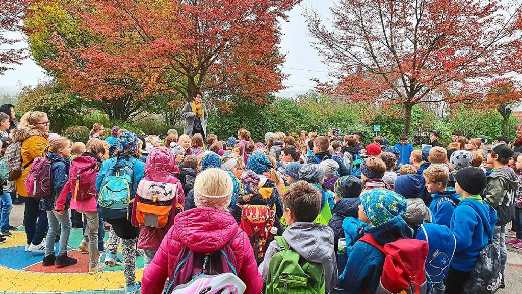 Haigerloch: Kinder sollen zu Fuß zur Schule gehen und werden bei den Projekttagen darauf vorbereitet - Haigerloch - Schwarzwälder Bote