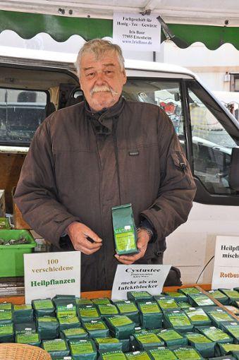 Karl-Heinz Baur ist seit mehr als 25 Jahren auf dem Maimarkt vertreten. Foto: Schwarzwälder Bote