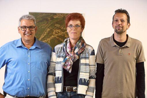 Der künftige Ortsvorsteher und seine Stellvertreter (von links): Frank Feuser, Ute Hettel und Thomas Sautter.   Foto: Maier Foto: Schwarzwälder Bote