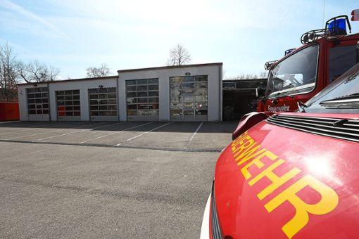 Die Fahrzeughalle der Balinger Feuerwehr wird demnächst erweitert.   Foto: Maier Foto: Schwarzwälder Bote