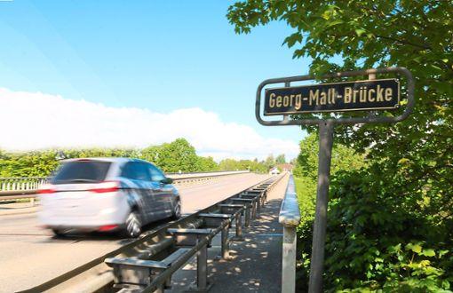 Die Georg-Mall-Brücke wird 2020 saniert.  Foto: Wursthorn