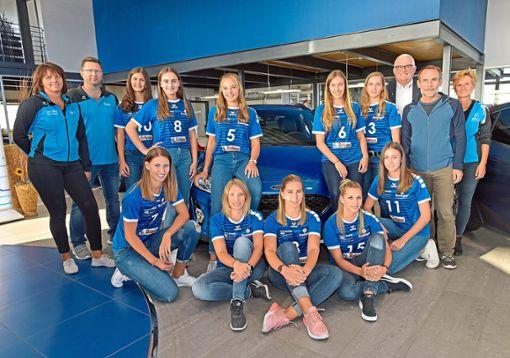 Nach ihrem Abstieg aus der Dritten Liga freuen sich die Villinger Volleyballerinnen nun auf ihren Neuanfang in der Regionalliiga. Es wird einige Derbys geben.  Foto: Sigwart