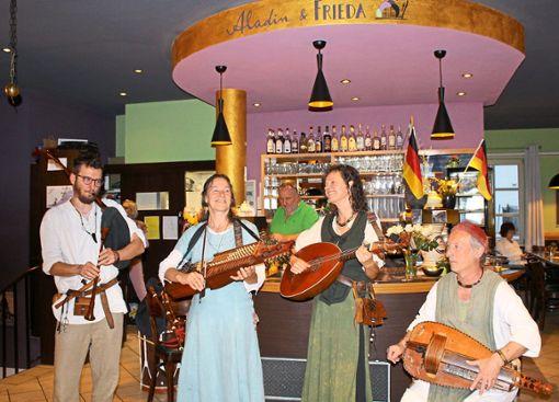 Das Quartett aus dem Kinzigtal begeisterte.  Foto: Privat Foto: Schwarzwälder Bote