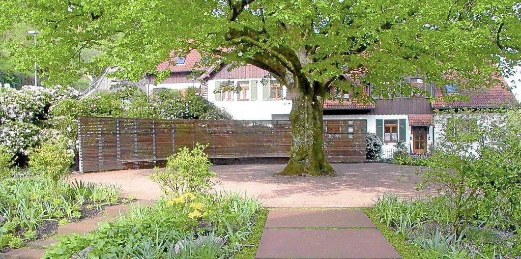Ein Ausgezeichnetes Projekt: Der Neu Gestaltete Schiltacher Stadtgarten.  Foto: Privat Foto: Schwarzwälder