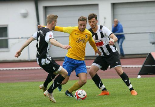 Kein gutes Ende für den FC 07 Albstadt.  Foto: Kara