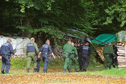 Die Suche nach dem mutmaßlichen Todesschützen geht weiter. Foto: Schmidt