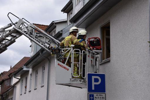 Auf dem Herd vergessenes Essen hat in Ebingen die Feuerwehr auf den Plan gerufen. Foto: Jannik Nölke