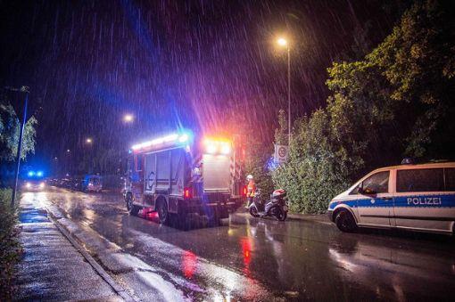 Auch im Landkreis Calw war die Feuerwehr wegen der Unwetter im Einsatz. (Symbolfoto) Foto: dpa