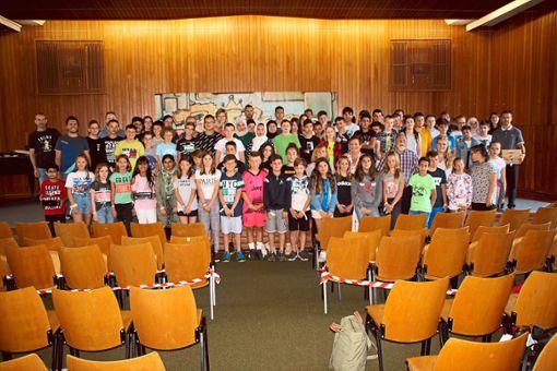 Etwa 120 Mädchen und Jungen gaben für eine Woche lang ihre Handys ab.  Foto: rt Foto: Schwarzwälder Bote