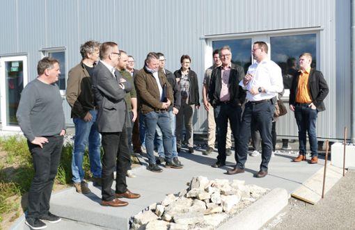 Die Kandidaten der Wählervereinigung bei Mado.  Foto: Stöhr Foto: Schwarzwälder Bote