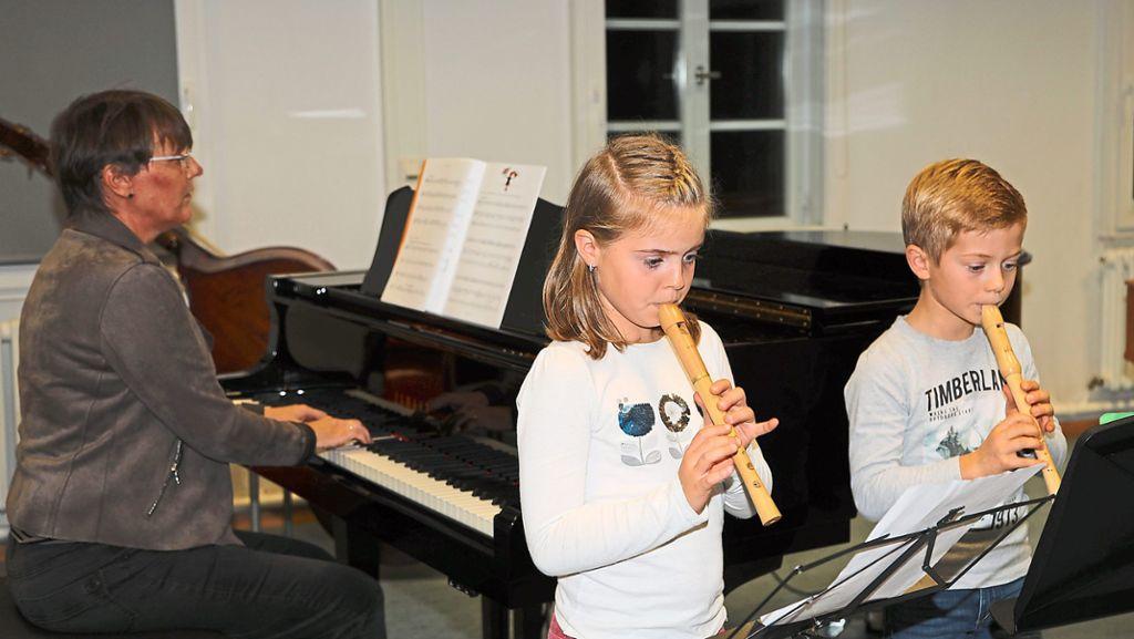 Wildberg: Talente sammeln Konzerterfahrung - Schwarzwälder Bote - Schwarzwälder Bote