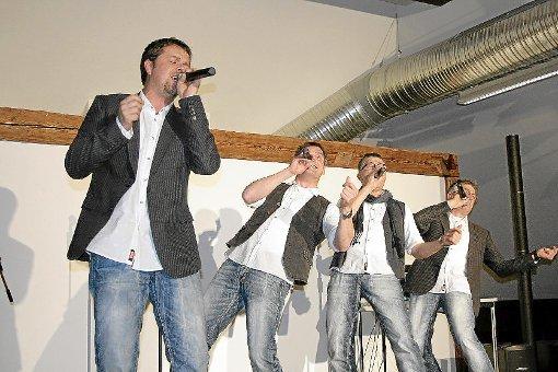 Hingebungsvoll präsentieren die fabelhaften Vier ihre Songs.  Foto: Vollmer Foto: Schwarzwälder-Bote