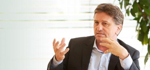 Sozial- und Integrationsminister Manfred Lucha (Grüne)   Foto: Graner
