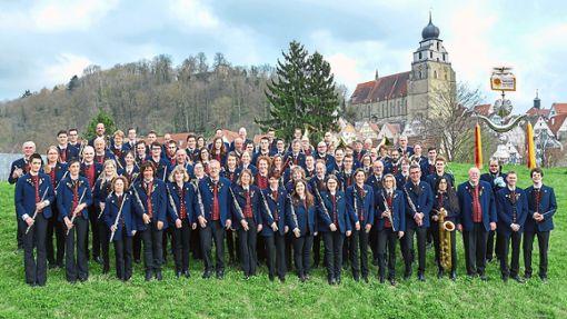 Die Stadtkapelle Herrenberg konzertiert am Sonntag auf dem   Nagolder Schlossberg  in der  Burgruine.  Foto: Stadtkapelle Foto: Schwarzwälder Bote