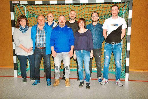 Die Vorstandsriege blickt positiv in die Zukunft.  Foto: Ullrich Foto: Schwarzwälder Bote