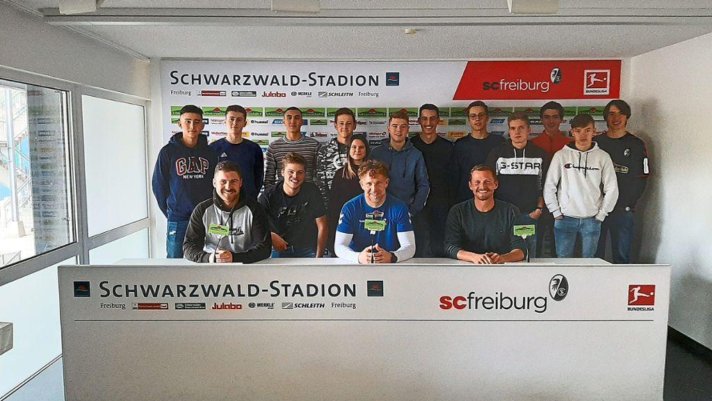 Villingen-Schwenningen: Schule beim SCF - Villingen-Schwenningen - Schwarzwälder Bote