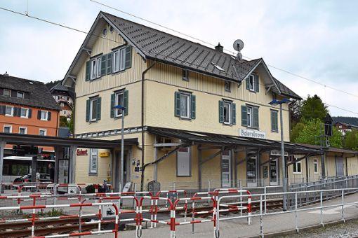 Der Kiosk am Baiersbronner Bahnhof wurde mitte Mai Ziel eines Überfalls. Foto: Michel