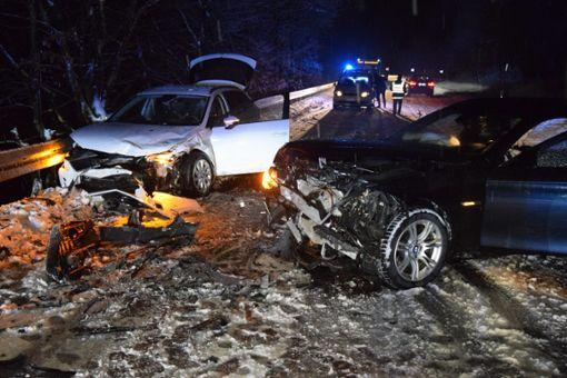 Die Strecke war für die Unfallaufnahme voll gesperrt. Foto: kamera24
