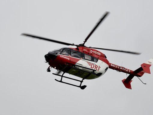 Ein Rettungshubschrauber flog die 15-Jährige in eine Klinik nach Karlsruhe. (Symbolfoto) Foto: dpa