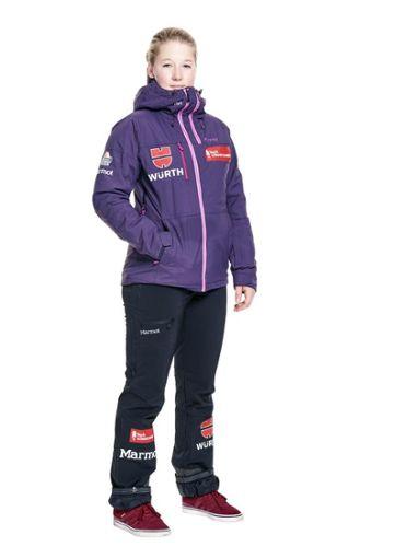 Jana Fischer startet im Snowboardcross. Foto: Eich