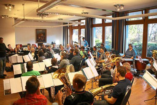 Die Stadtkapelle Rosenfeld, hier bei einem Probenwochenende, will ihre Ehemaligen reaktivieren und neue Musiker gewinnen.  Foto: Archiv Foto: Schwarzwälder Bote